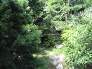 レトロ清風荘庭園一部