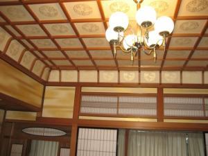 貴賓室雲井の天井